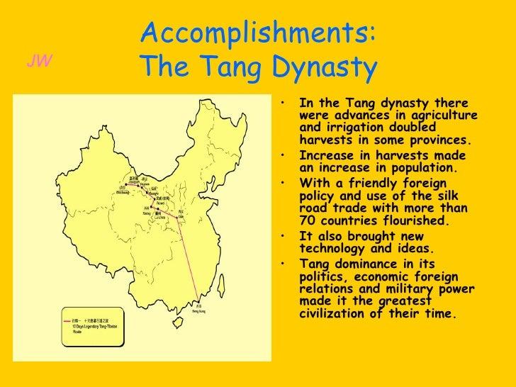 The Qin And Tang Dynasties