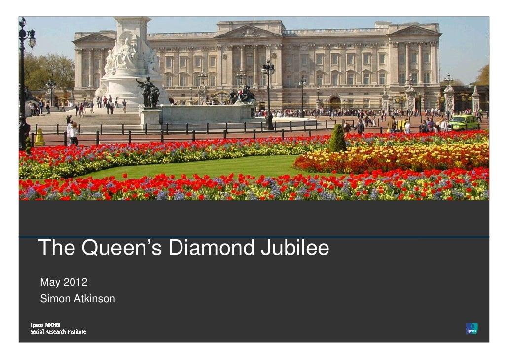 1   The Queen's Diamond Jubilee    May 2012    Simon Atkinson© Ipsos MORI