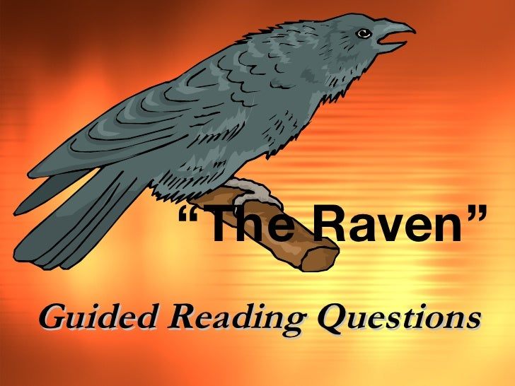 """"""" The Raven"""" Guided Reading Questions"""