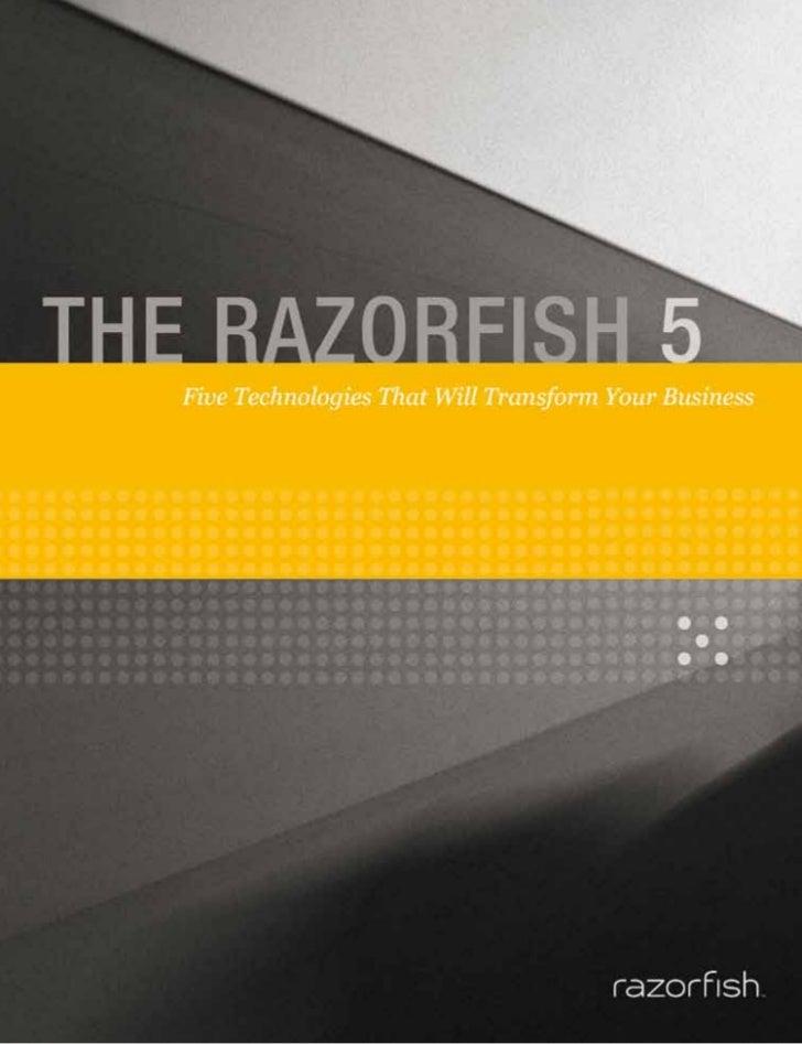 Copyright 2011 Razorfish LLC. All rights reserved