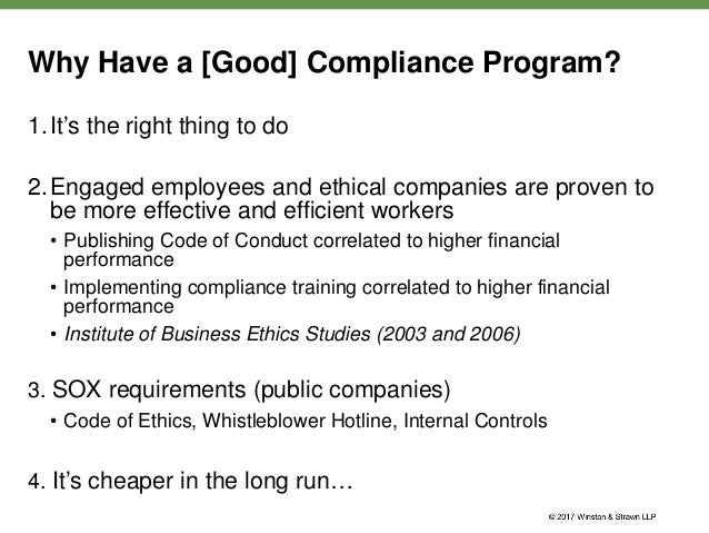 The real deal webinar series practical advice from a former chief co - Financial compliance officer ...