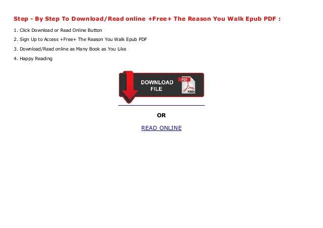 The Reason You Walk PDF Free Download