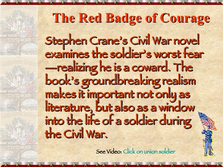 red badge of courage journal entry