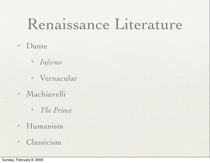 The Renaissance Slides