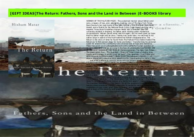 Gift Ideas The Return Fathers Sons And The Land In Between E Book
