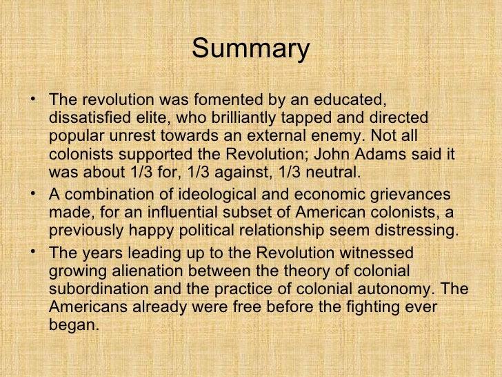 Theory of alienation summary