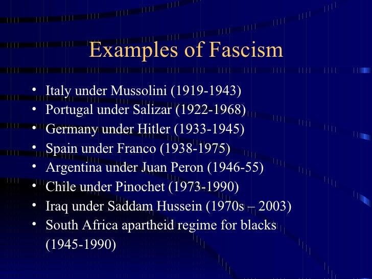 an introduction to fascism in germany and italy Fascism in italy, we recall, arrived long before the nazis took over in germany,  and fascism taught the world and hitler many of the tricks of totalitarian.