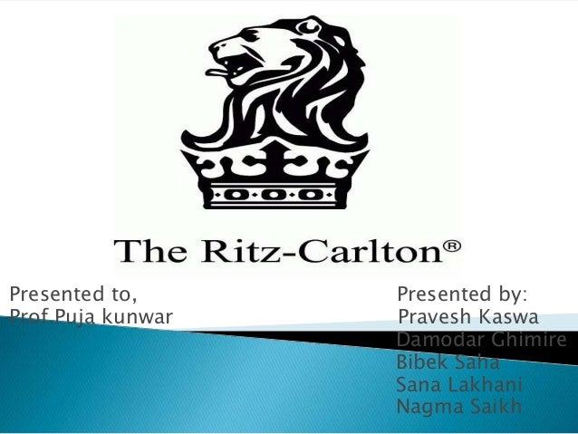 Ritz-Carlton Case Study