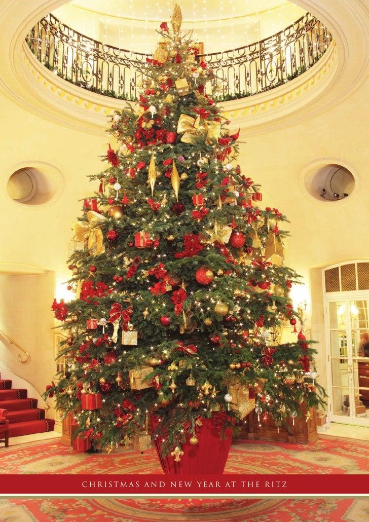Christmas At The Ritz London.The Ritz London Christmas Menu 2009