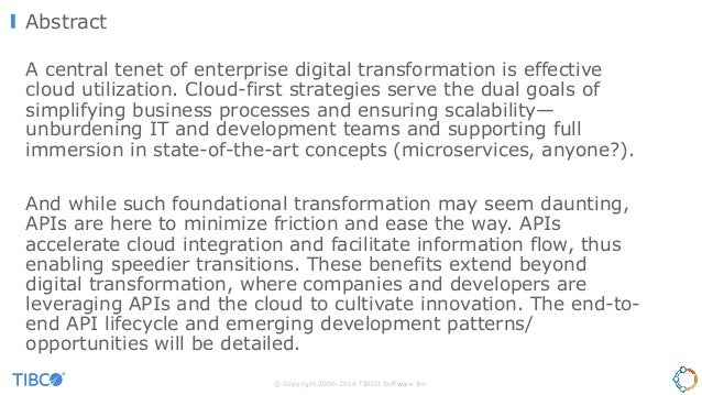 The Road to a Cloud-First Enterprise Slide 2