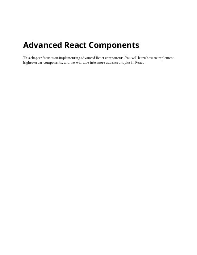 The road-to-learn-react