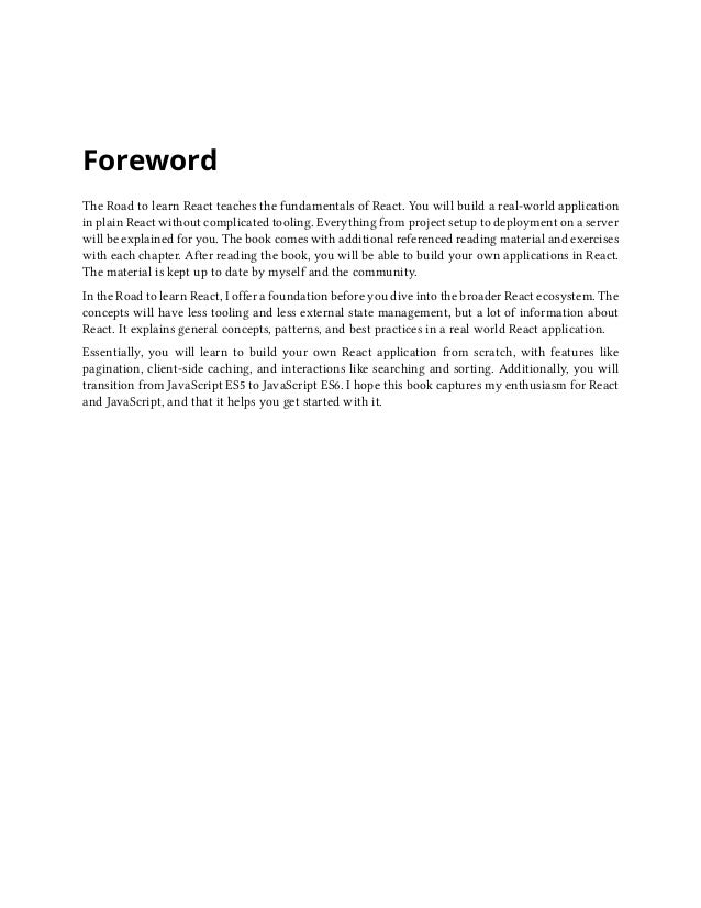 Foreword ii About the Author I am a German software and web engineer dedicated to learning and teaching programming in Jav...