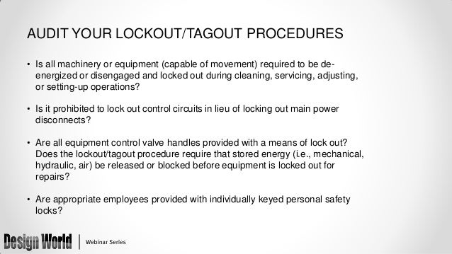 are you at risk the role of lockout tagout in pneumatic safety. Black Bedroom Furniture Sets. Home Design Ideas