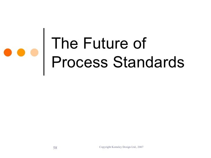 The Role of Standards in BPM