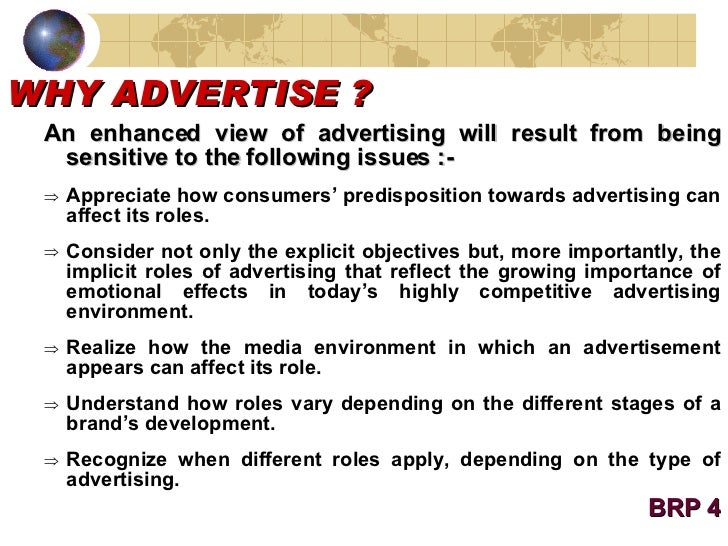 consider the role of advertising as Role of consumer behaviour in advertising marketers need to understand the buying behaviour of consumers while designing their advertisements for the desired impact.