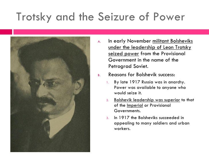 Why did bolsheviks suceed gaining power 1917