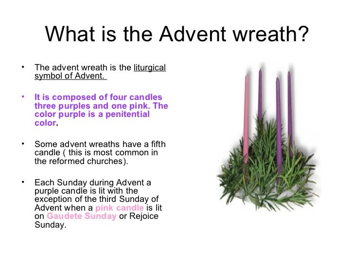 what is the advent wreath ul li the advent wreath