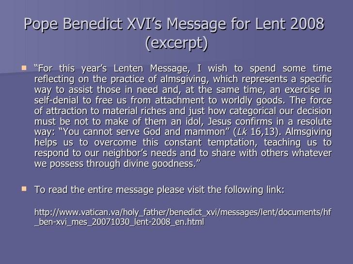 Lent 2019 March 6 - April 21