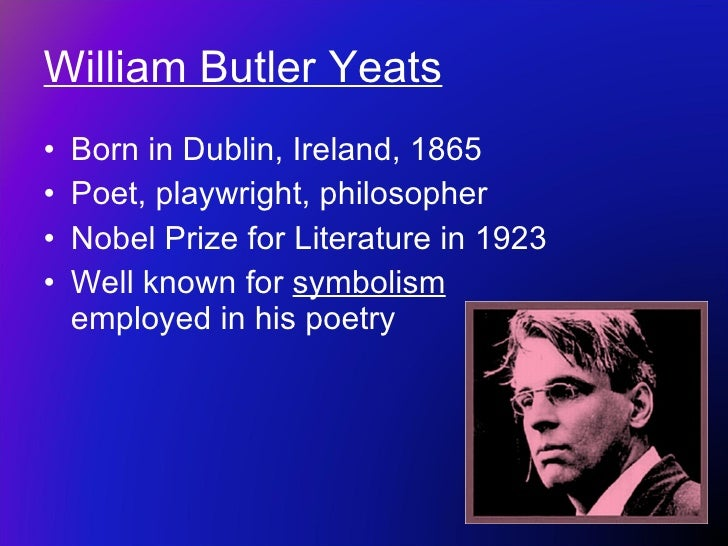 yeats second coming The falconer in the second coming is generally thought to represent christ the christian historical epoch, or gyre as yeats calls it, is drawing to a close.