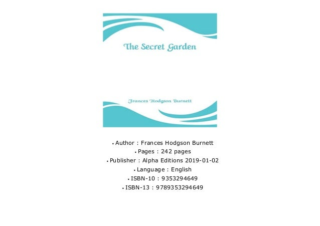 MOST WISHED] The Secret Garden by Frances Hodgson Burnett