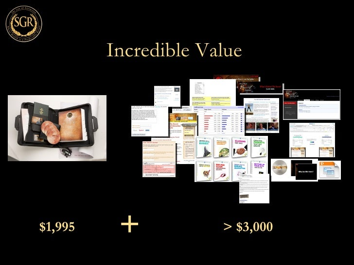 Incredible Value $1,995 + > $3,000 ...