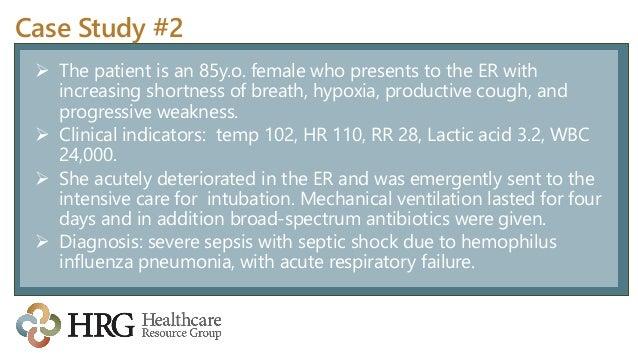 Case study sepsis nursing