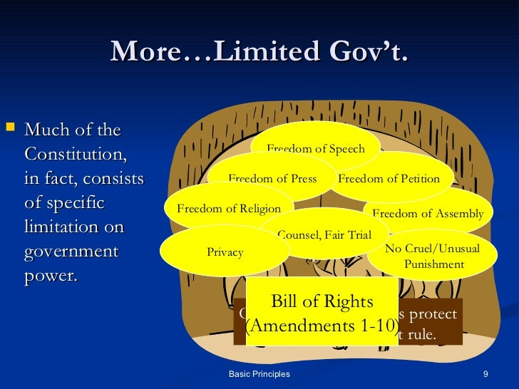 principles of government Chapter study outline introduction american government and politics are extraordinarily complex the framers of the united states constitution divided governmental power and responsibility both among the legislative, executive, and judicial branches and, again, federally between the national.