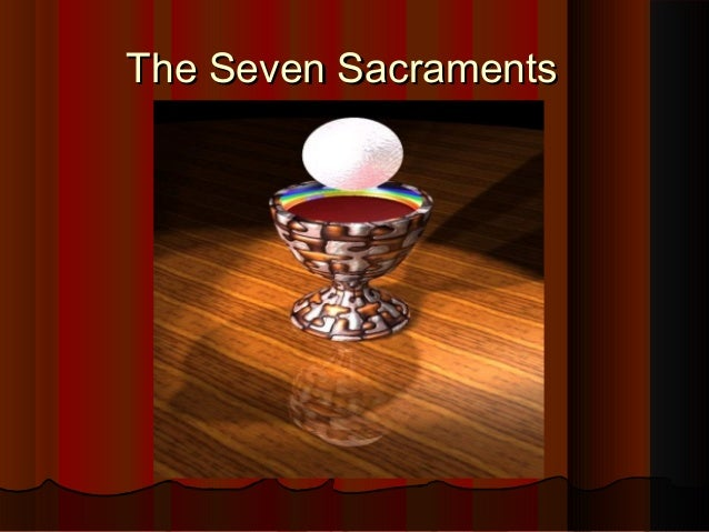 why sacraments are not signs Further, jesus is a mystery concealing not just his divinity but his father  in  each of the sacraments we can see that there is an outward sign of the mystery.
