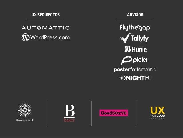 The Shift: UX Designer as Business Consultant (2016) Slide 2