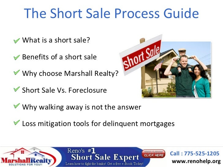 The Short Sale Process GuideWhat is a short sale?Benefits of a short saleWhy choose Marshall Realty?Short Sale Vs. Foreclo...