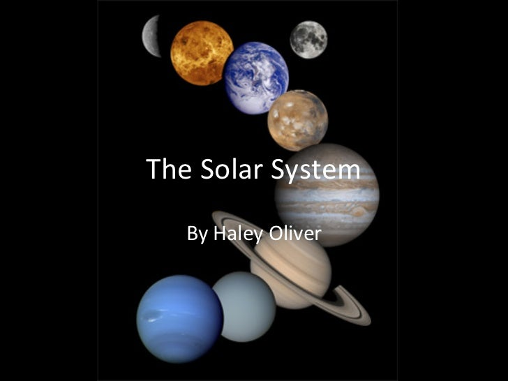 The Solar System Powerpoint