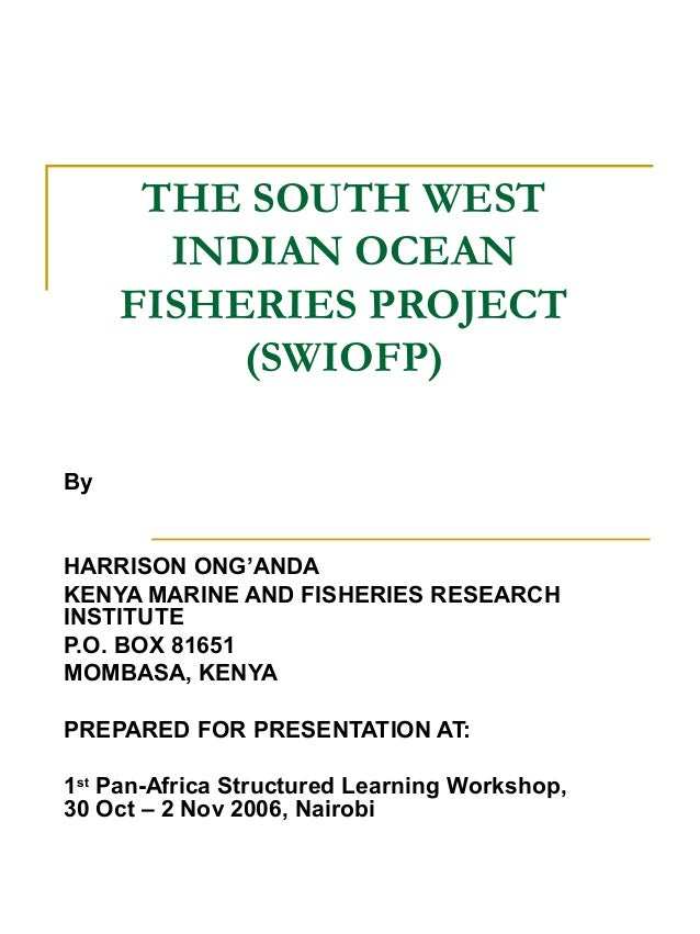 project report on south indian sea Status of sea turtle conservation in the western indian ocean  conservation in the western indian ocean regional seas reports and studies i  hughes of south .