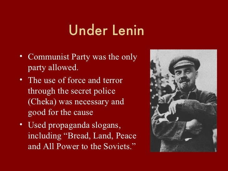 Leaders Throughout The History Of The Soviet Union