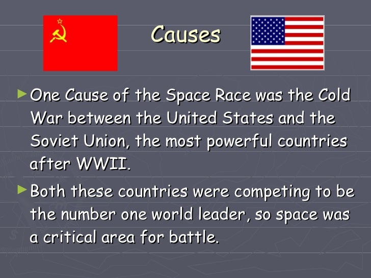 the space race causes
