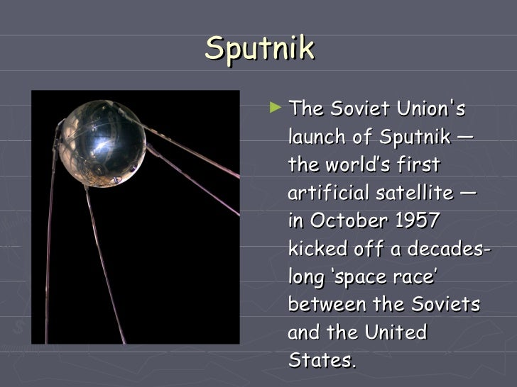 the space exploration race between the united states and russia The final wartime meeting of the leaders of the united states, britain, and the soviet union was held at potsdamn, outside berlin, in july, 1945 truman, churchill, and stalin discussed the future of europe.