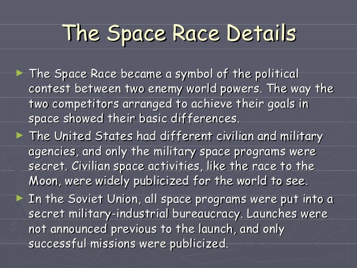 the space race  7 the space race details