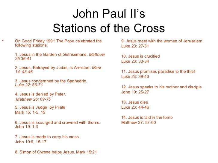 how to say the stations of the cross