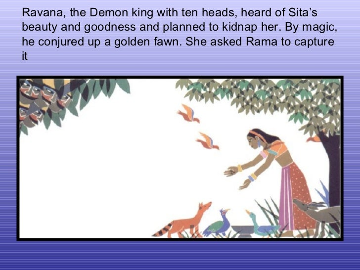 story of rama and sita summary