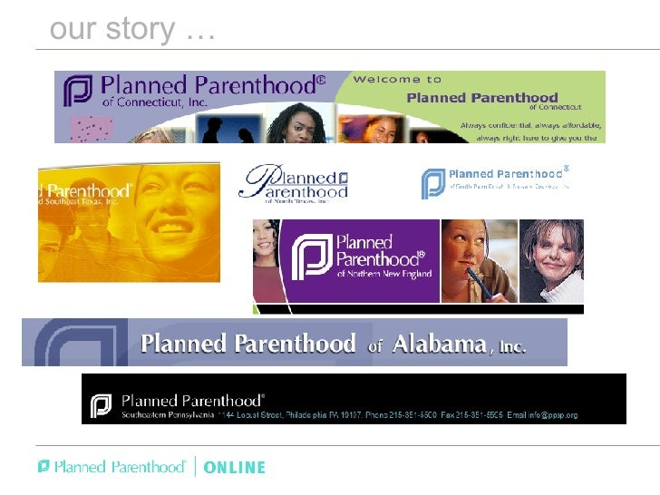 The Strategy Behind Planned Parenthood Online - Jon Platner / Forum One Web Executive Seminar Slide 2