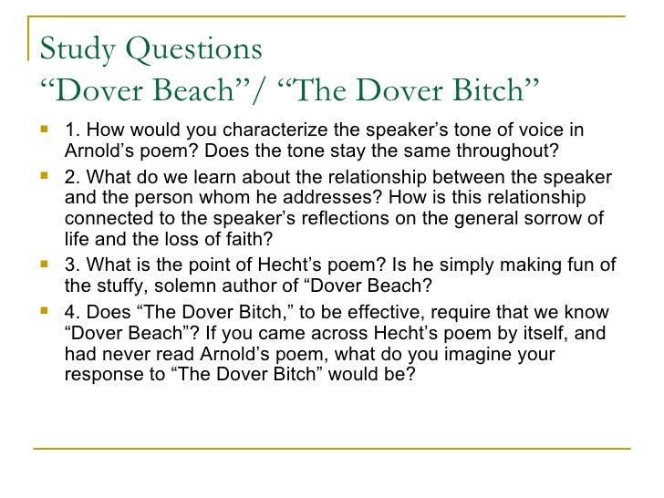 dover beach summary in tamil