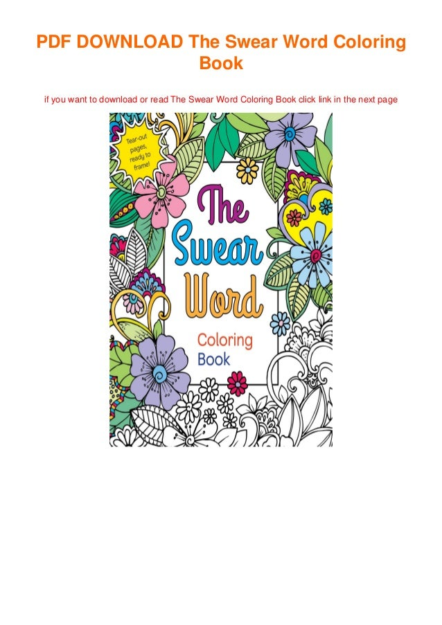 The Swear Word Coloring Book Full_online