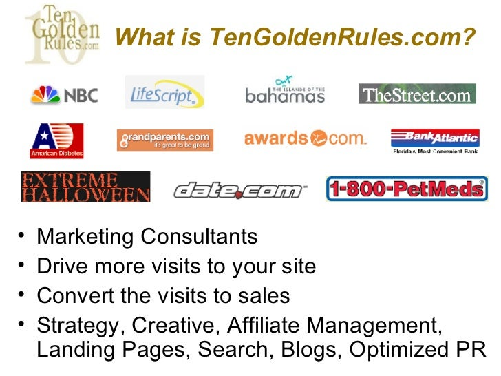 3 golden rules of marketing