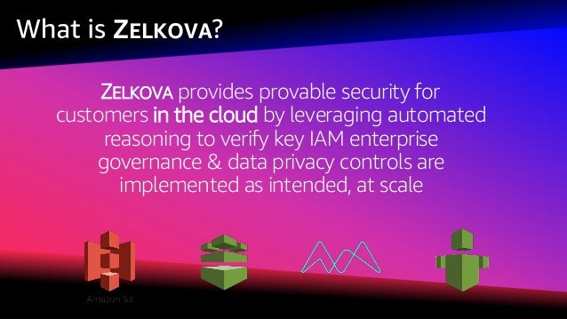 © 2018, Amazon Web Services, Inc. or its affiliates. All rights reserved. What Does ZELKOVA Do?