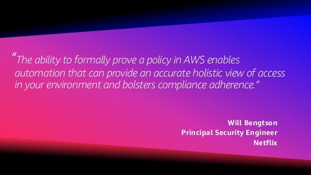 © 2018, Amazon Web Services, Inc. or its affiliates. All rights reserved. What do I want as an AWS customer?