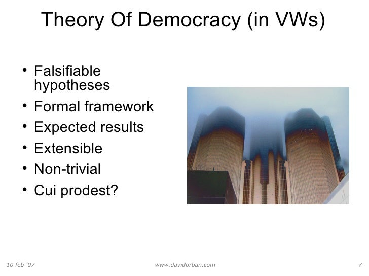 democracy in theory and practice Learning and teaching about democracy(ies) in theory and practice: a study-guide for teachers dr c spiliotopoulou, directorate of secondary education of piraeus, greece critically discuss current issues related to democracy in a lobalised world.