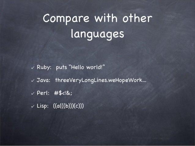 The Top 10 Reasons The Ruby Programming Language Sucks