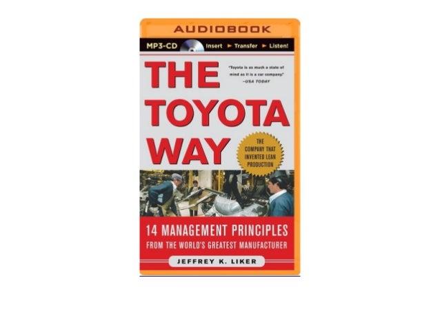 The toyota way 14 management principles pdf download version