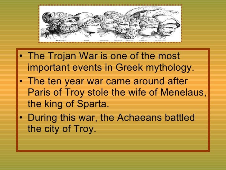 the trojan war fact or The greek mythology way of telling the trojan ar-- created using powtoon -- free sign up at make your.