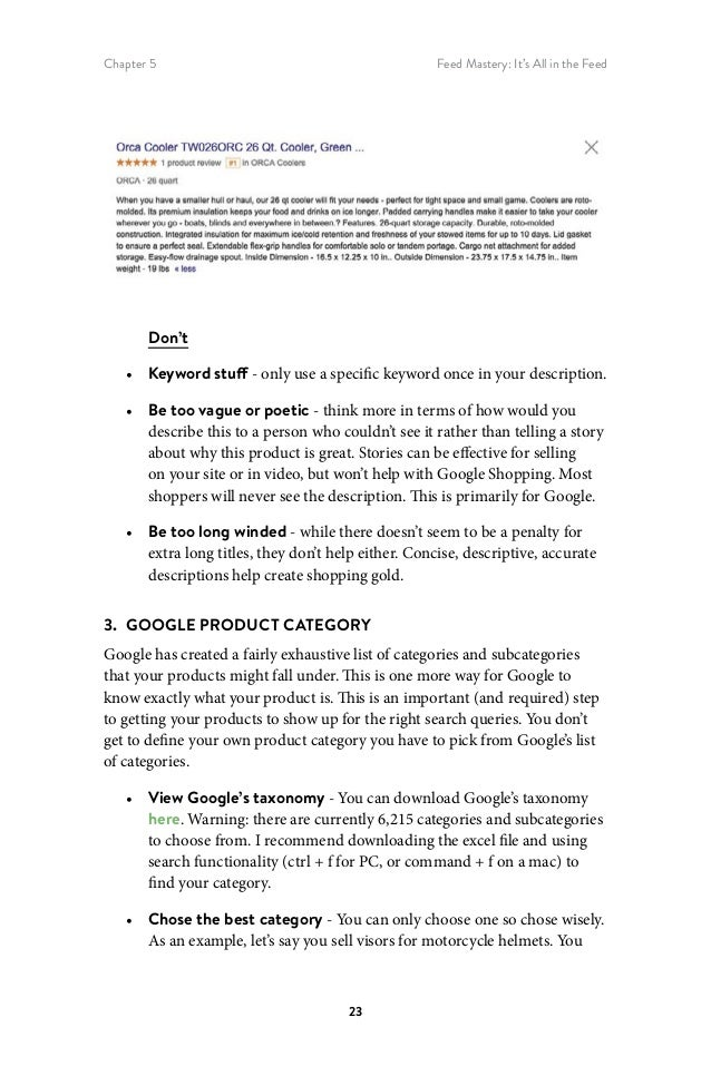 The ultimate guide to google shopping(shopify)