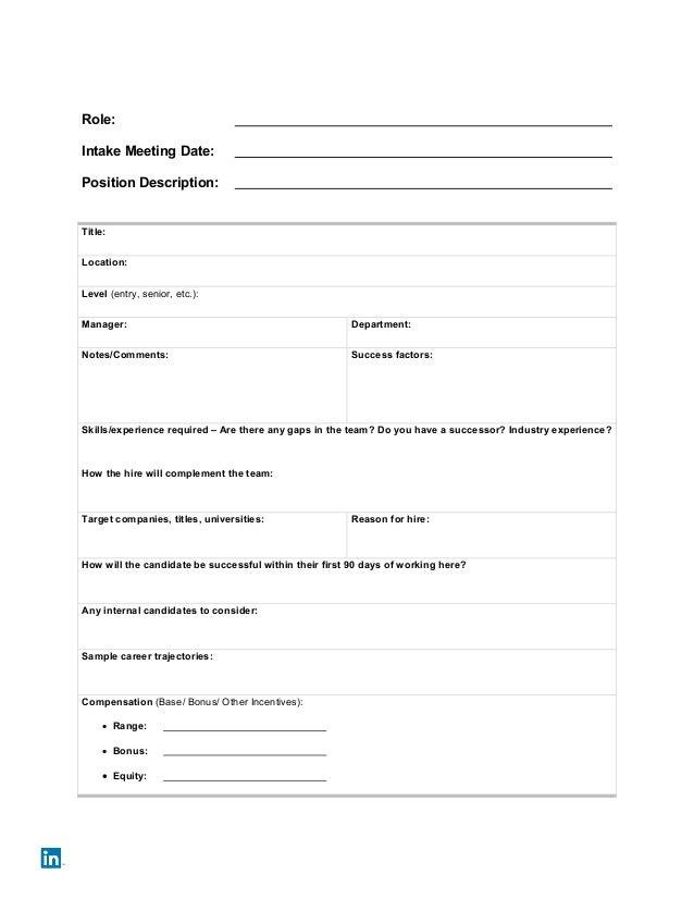 recruitment strategy template